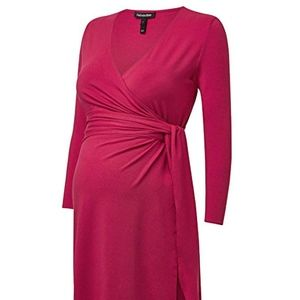 Isabella Oliver Maternity Wrap Dress in Wine